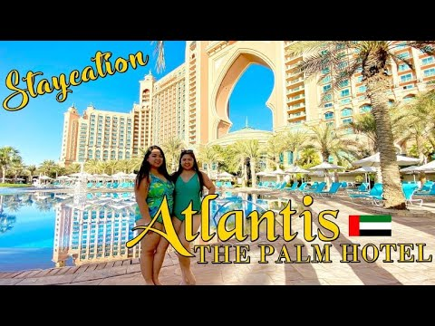ATLANTIS THE PALM HOTEL + THE LOST CHAMBER AQUARIUM TOUR / #VLOG07