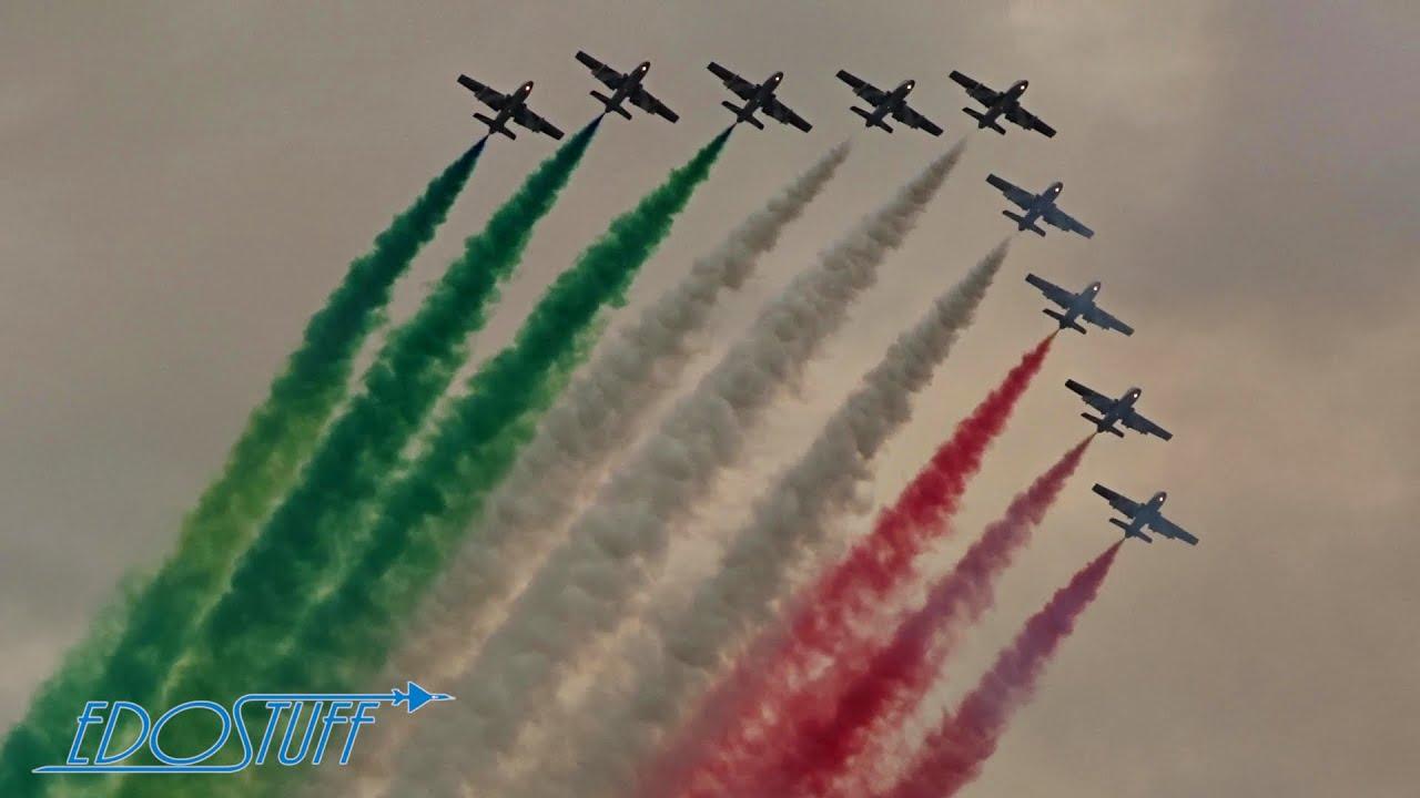 Frecce Tricolori Display - AIRPOWER19 - YouTube