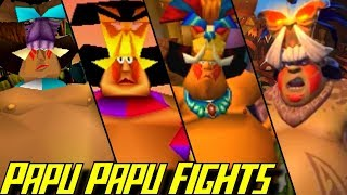 Evolution of Papu Papu Battles in Crash Bandicoot Games (1996-2017)