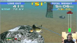 Sega Bass (Bouse) Fishing Part 2 -- MaximusBlack
