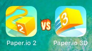 Paper.io 2 vs. Paper.io 3D || Voodoo Games || ios,android screenshot 5