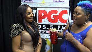 Ashanti talks New Music, Fashion Industry, and more with WPGC's Poet