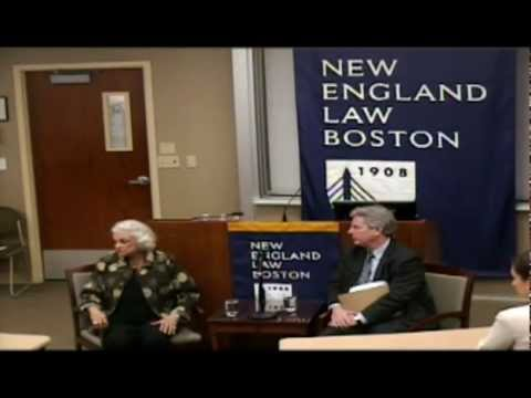 Justice Sandra Day O'Connor visits New England Law | Boston