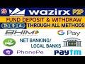 Gambar cover Wazirx me Bitcoin ko kaise buy/Sell Kare / Wazirx me INR Deposit/withdraw kaise kare/hindi GkCryptox
