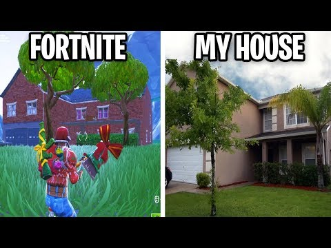 STALKER Created My HOUSE In Fortnite Creative Mode (this is creepy...)