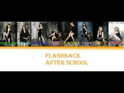 After School _ flashback ( color coded lyrics )