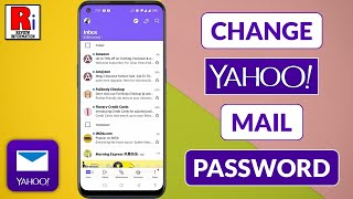HOW TO CHANGE YAHOO MAIL PASSWORD FROM ANDROID DEVICE