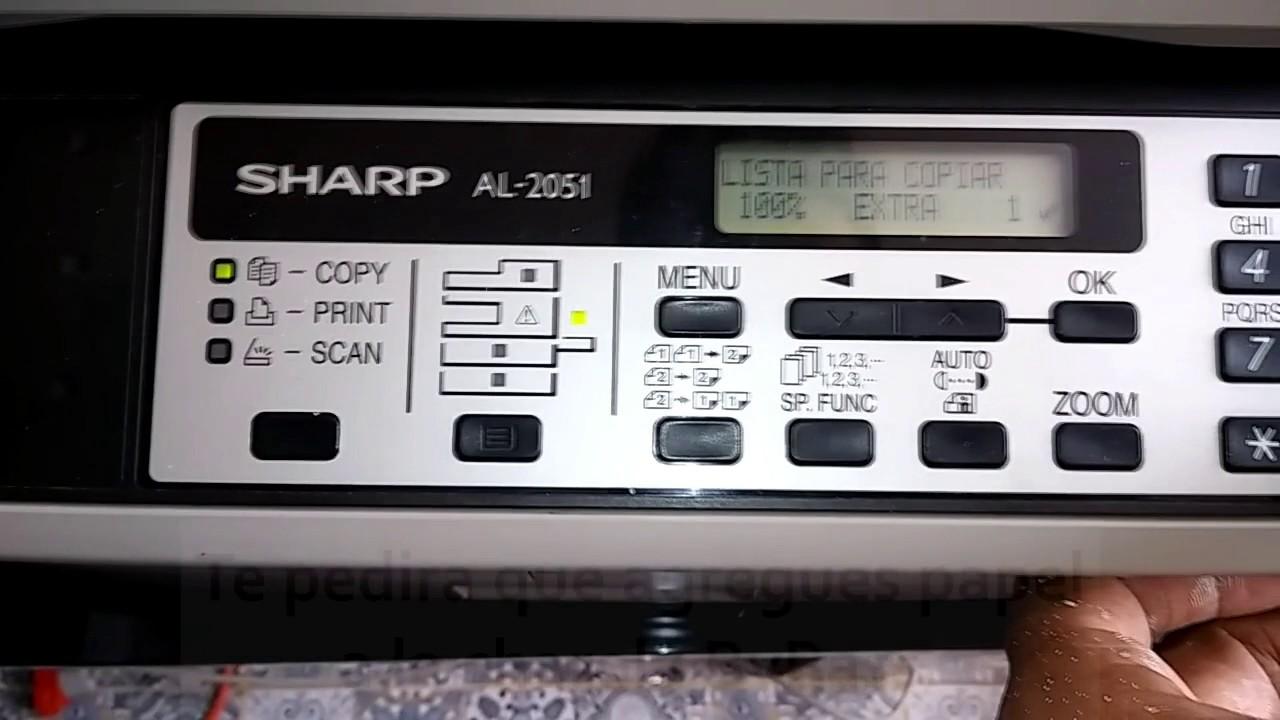 SHARP AL-2051 PCL 6 PRINTER DRIVER DOWNLOAD