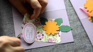 Пример изготовления открыток из набора(Изготовление открыток из готовых наборов дизайн-бюро