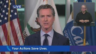 Raw Video: Gov. Gavin Newsom Announces Progress In Additional Coronavirus Testing, Contact Tracing