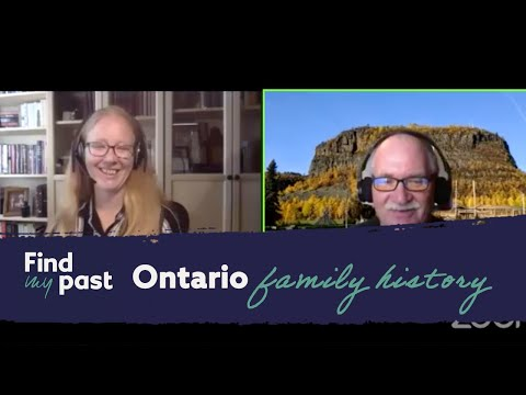 Ontario Family History - Expert Q&A | Findmypast