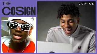 NLE Choppa Reacts To Southern Rap Classics (Soulja Boy, OutKast, Three 6 Mafia) | The Cosign