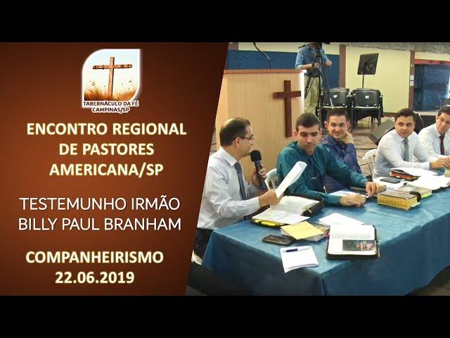 22.06.2019 | Encontro Regional | Companheirismo | Americana/SP