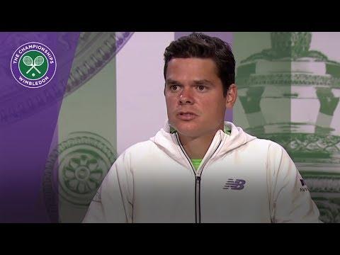 Milos Raonic Wimbledon 2017 third round press conference