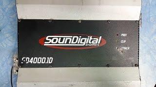 Soundigital SD4000.1D sem som, como funciona a fonte