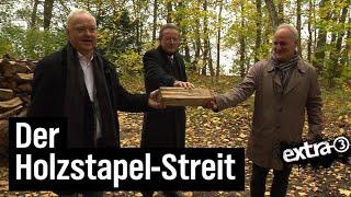 Realer Irrsinn: Baugenehmigung für Holzstapel – jetzt legal