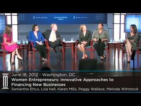Women Entrepreneurs: Innovative Approaches to Financing New Businesses