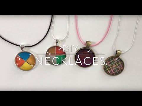 목걸이 만들기 DIY Accessories ネックレスの作り方 -How to make DIY Jewelry by My little birds