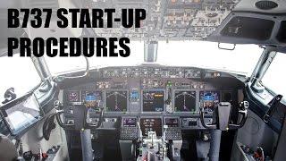 X Plane 11 Default 737 Start-Up Procedures! (Checklist included!)