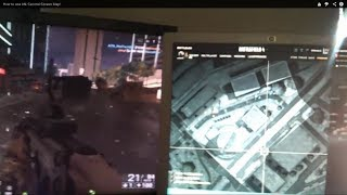 How to use bf4 Second-Screen Map!