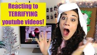 Reacting to TERRIFYING youtube videos!