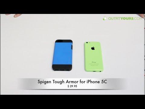 new style 0e238 e4c6a Spigen Tough Armor for iPhone 5C Review