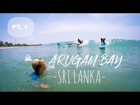 ARUGAM BAY - SRI LANKA (1/4) ▼ RTW TRAVEL VLOG