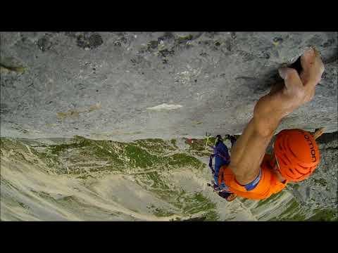 Gimpel Südwand Klettern