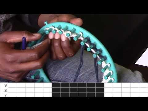 Leçon n°18: Tricoter le jacquard en jersey (le coeur)