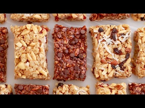 No-Bake Granola Bars (Back to School Recipe) Gemma's Bigger Bolder Baking Ep 139