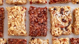 No-Bake Granola Bars (Back to School Recipe) Gemma