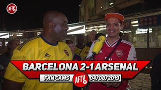 Barcelona 2-1 Arsenal  | What Do You Expect From Arsenal This Season? (Robbie Asks Fans)