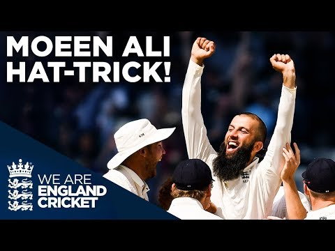 Moeen Ali Takes AMAZING Hat-trick! | South Africa v England 2017 | England Cricket