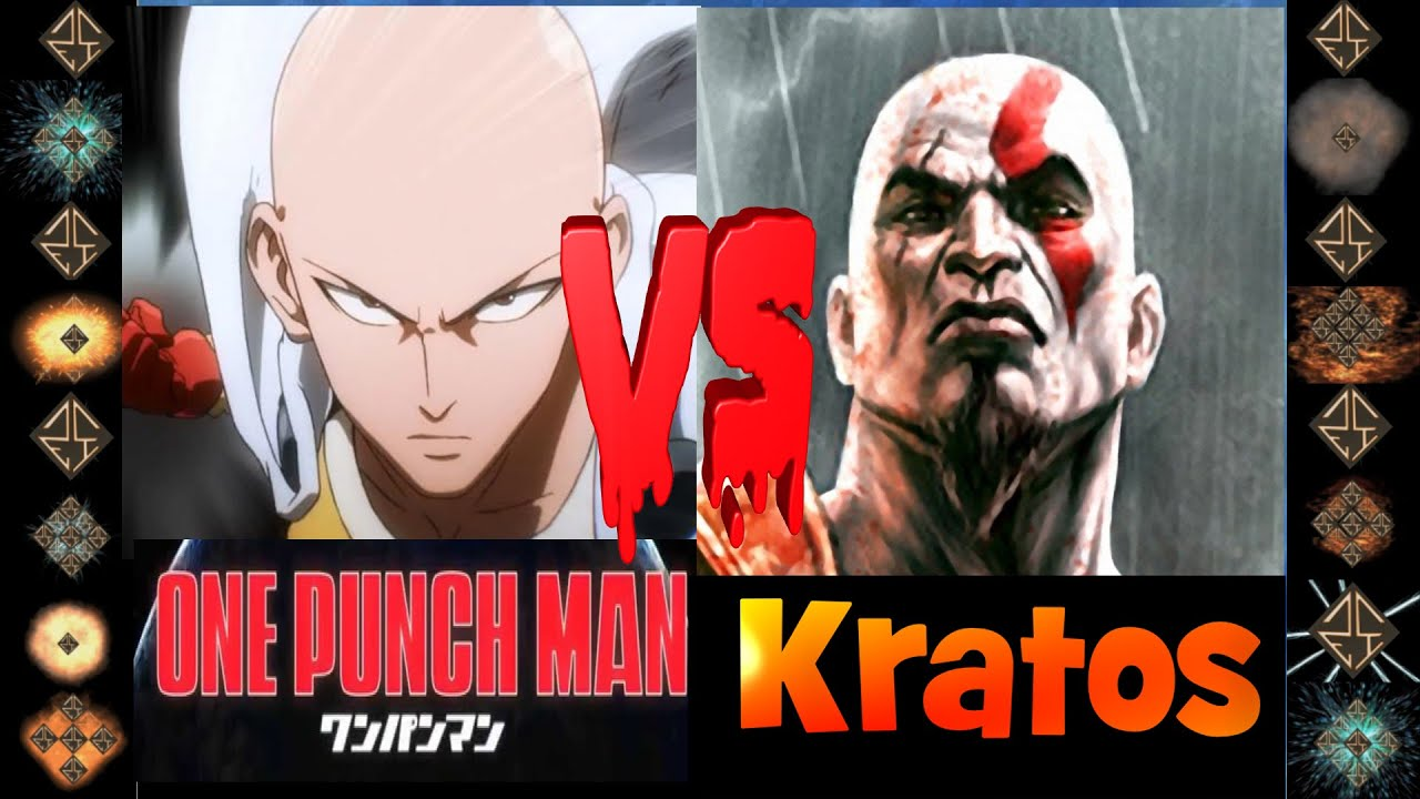 Saitama (One Punch Man) vs Kratos (God of War) - Ultimate ...