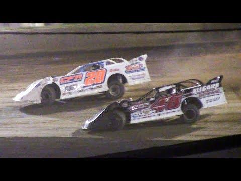 Super Late Model Heat Four   Eriez Speedway   9-22-18