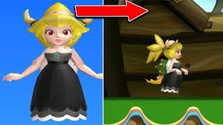 Playable Bowsette in New Super Mario Bros. U Deluxe