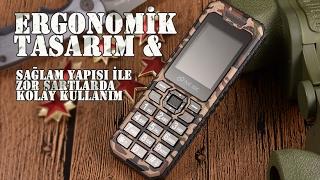 NCBC MARKALI %100 TÜRK MALI ASKER TELEFONU (Kutu Açılımı)