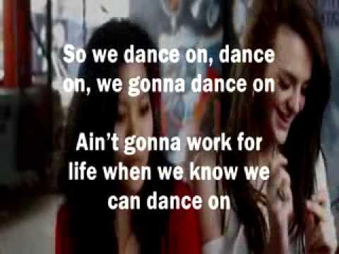 N-Dubz Ft Bodyrox - We Dance On (Official Karaoke)