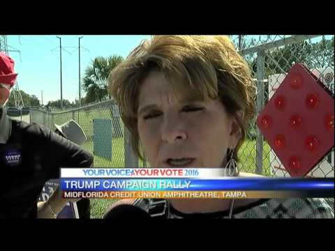 Trump campaigns in Tampa - 6pm Report
