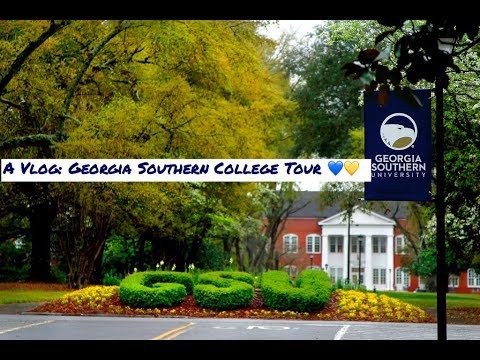 A Vlog: My First College Tour! | Georgia Southern University