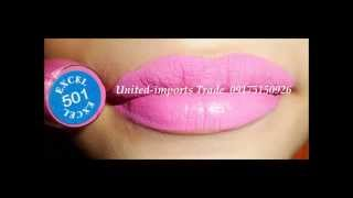 excel paris 24hr matte lip creams swatches all colors Thumbnail