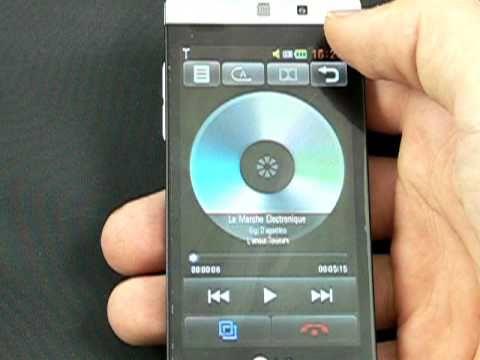 LG GD880 Mini - galerie, hudba, video