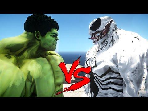 HULK VS VENOM (ANTI-VENOM) - EPIC SUPERHEROES BATTLE | DEATH MATCH