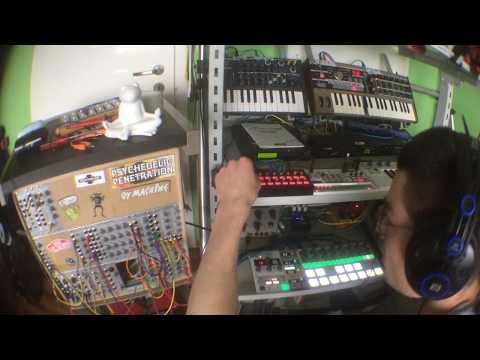 Rhythmic Ambient w/ Mutable Instruments Rings, Korg Volca Sample & Co