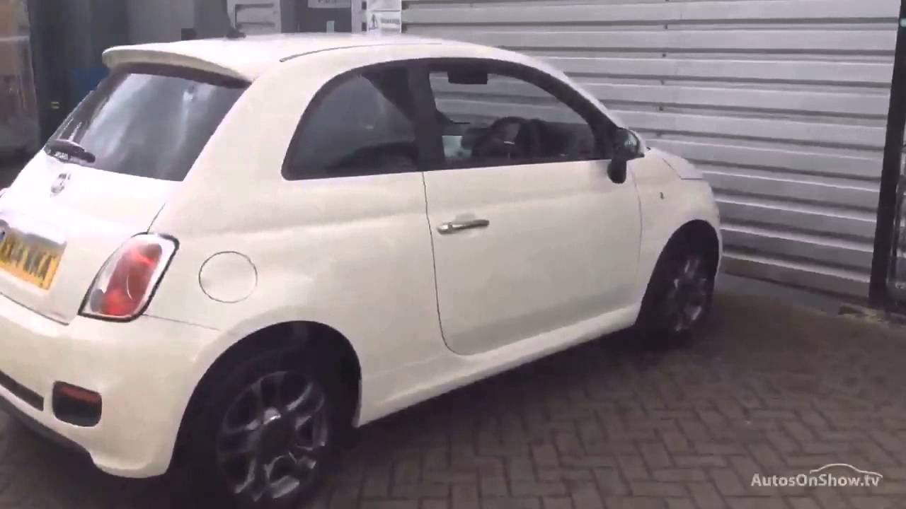 fiat 500 s dualogic white 2014 youtube. Black Bedroom Furniture Sets. Home Design Ideas