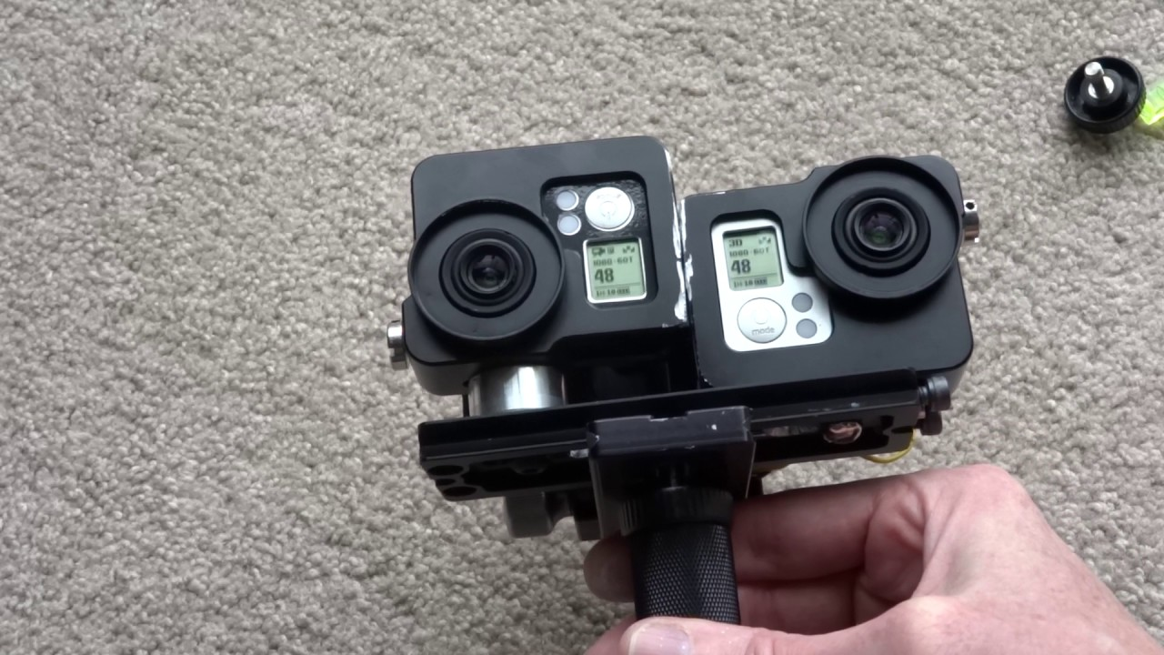 Gopro 3d Camera Stereoscopic genlocked