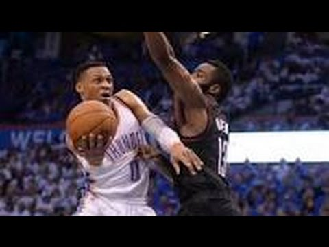 Thunder vs Rockets NBA PLAYOFFS GAME 4 113-109 REVIEW