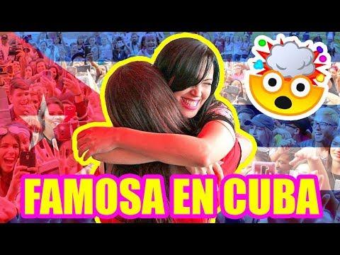 HASTA LA NOCHE DANDO BESOS! INTERNET HABANA CUBA! ENCUENTRO con los Fans y Youtubers SandraCiresArt