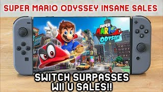Amazing Nintendo Switch Sales: 14.86 Million | Super Mario Odyssey Sold Over 9 Million and More!!!