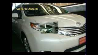2012 Toyota Sienna Philippines Best Buy - WEBUYCARS.PH